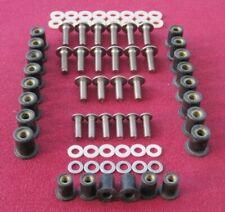 DUCATI 600SS,750SS,900SS fairing,screen, stainless steel screw kit - 1991-97 -D7