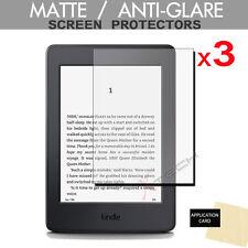 """3 X MATTE ANTIGLARE Screen Protector Guard for Amazon Kindle Paperwhite 6"""" (+3G)"""