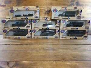 Solido Military Collection Tank,Jeep,Half Track and more Lot