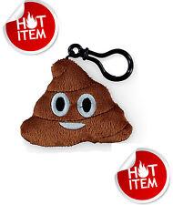 """Cute Emoji Emoticon Stuffed Plush  Key Chain Pillow Plush Poo """" Poop Shape"""""""