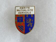 Insigne boutonnière du mérite Mutualiste Agricole de Bourgogne