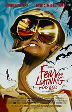 Fear and Loathing In Las Vegas movie poster - Johnny Depp poster - 11 x 17