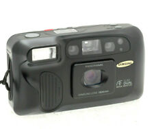 Samsung AF Slim Duel - 28mm & 48mm Lens - Scarce 35mm Film Camera - New Battery