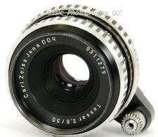 Carl ZEISS Jena TESSAR 2.8/50mm Lens for EXAKTA 35mm SLR & DIGITAL Micro 4/3