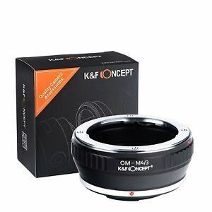 K&F Concept Objektivadapter  für Olympus OM Objektiv auf Panasonic/Olympus M4/3