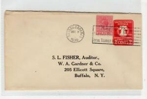 USA 1930 postal stationery used in Bahamas (C39975)