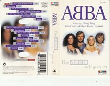 K 7 AUDIO (TAPE)  ABBA *THE MUSIC STILL GOES ON*