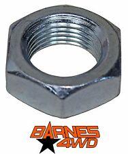 """1 1/4""""-12 Left Hand Steel Jam Nut"""