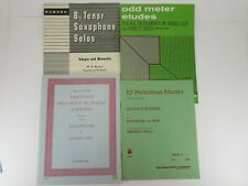 Odd Meter Etudes 35 Melodious Technical Exercises; 53 Melodious Etudes Saxophone
