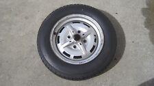"""Original 1974-1976 Porsche 914-4 Lug 165/15 Spare Tire & 15 x 5 1/2"""" Wheel"""