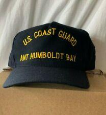New Uscg Us Coast Guard hat cap Ant Humboldt Bay California Military crew