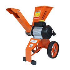 Compact Garden self feed Electric wood chipper 2800w 4HP, Chips up to 50mm Diam