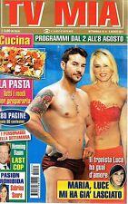 Tv Mia.Maria De Filippi & Luca Viganò,Jesse Spencer,Henning Baum,Sabrina Seara,i