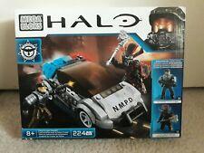 Mega Bloks - Halo - Police Cruiser Standoff - 224 Pcs - with two figures - NEW