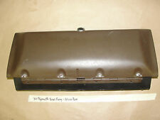 Factory Original 74 Plymouth Gran Fury DASH GLOVE BOX DOOR LID COMPARTMENT LINER
