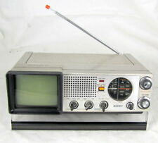 Vintage Sony TV-411 Portable FM/AM TV Receiver Tested & Working