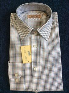 Gurteen Mens Mixed check shirt, 100% cotton many sizes RRP £45.00 Ours £19.95
