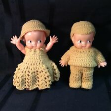 "Plastic dolls Canadian based made in nashua new hampshire ""m 2"""