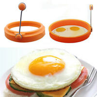 Kitchen Cooking Fried Egg Shaper Mold Ring Round Shape Pancake Mould Tool PTCA