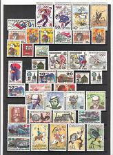 N°239,240 - Tchécoslovaquie - ( 1972-73 ) - 70 timbres oblitérés