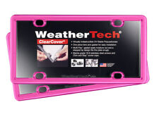 WeatherTech ClearCover License Plate Cover - Durable Frame - 2 Pack - 17 Colors!