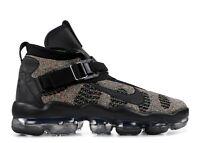 New Nike Vapormax Premier Flyknit in Black/Signal Blue Green Strike Size 12