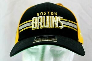 Boston Bruins Black/Yellow NHL Baseball Cap Snapback