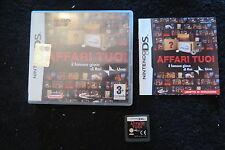 DS : AFFARI TUOI - Completo, ITA ! Il gioco di Rai Uno ! Compatibile 3DS e 2DS