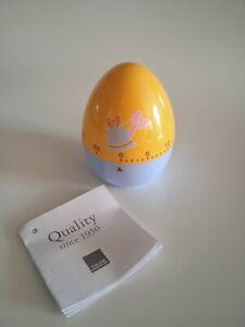 THUN Stories TIMER da cucina a forma di uovo multicolore no ceramica NUOVO !!!