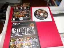 Battlefield Vietnam  + Battlefield 1942 World War II Anthology 8 PC-CDs  FREE SH