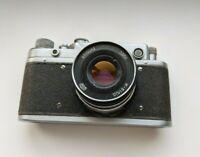 Zorki C Vintage 1957 Soviet Rangefinder Camera with Lens Industar 61 L/D