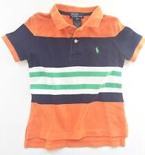 Ralph Lauren Polo Baby Boys Cotton Striped Polo Shirt, 2T - EUC!
