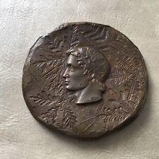 J.M. COEFFIN - Médaille en Bronze Jeux Olympiques 1968 Grenoble