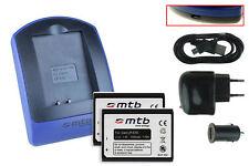 2 Batteries + Chargeur USB LP-E10 pour Canon EOS 1100D, Rebel T3