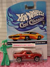 2014/2015 Hot Wheels #29 Cool Classics SUBARU BRAT✰Red;9 BELL✰Orange-Otto✰