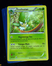 TCG POKEMON RARE CARD CARTE 6/162 FEUILOUTAN FR IMPULSION TURBO FRANCAISE