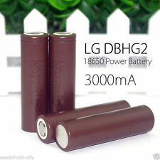 2 pc Genuine Original LG HG2 18650 3000mAh 3.6V Rechargeable Li-ion Battery