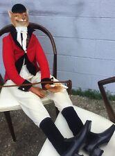 Katherine's Collection W Kleski Rare Retired Life Size Polo Fox Doll