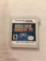 Boulder Dash-XL 3D (Nintendo 3DS, 2012)