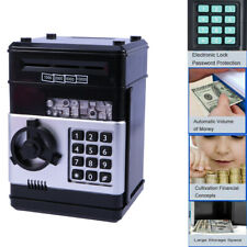 Kids Electronic Password Piggy Money Bank ATM Savings Box 4 Digits Code Lock