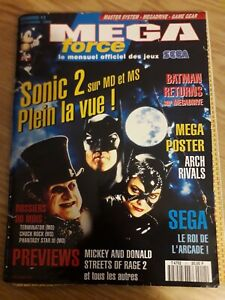 Mega force magazine sega 11