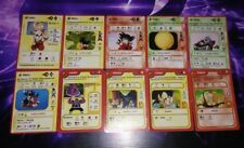 10 Cartes Dragon Ball Z Gioco Di Collezionabili Dbz Cards set ITA no duplicate
