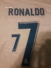 Nameset Real Madrid 2018 RONALDO 7 champions
