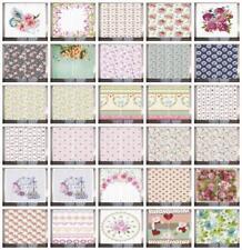 Shabby Chic Curtains 2 Panel Set Decor 5 Sizes Available Window Drapes
