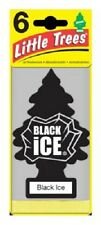 Car Freshner, 12 Pack, Black Ice Little Tree Air Freshener