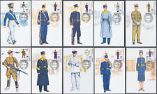 Greece 2018 190 Years Greek  Army Academy set of 10 maximum cards