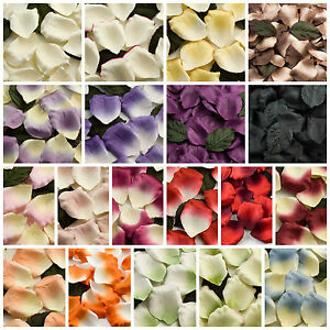 High Quality 100 Paper Rose Petals Wedding Scatter Table Aisle Confetti