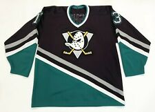 Vintage CCM Maska NHL Anaheim Mighty Ducks BISHOP 13 Hockey Jersey Man L Canada