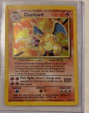 Holographic Charizard Pokemon Card Original