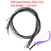 10Pcs Microblading Line Marker Ruler Line Eyebrow Messure Accessory Tattoo T CR